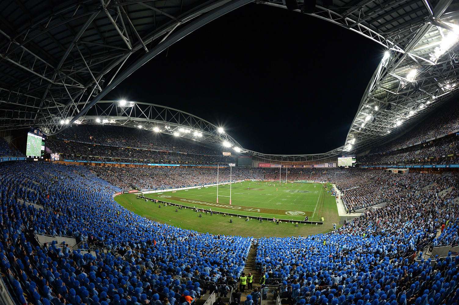 State of Origin game III at ANZ Stadium, Sydney on Wednesday, July 17, 2013. (Pic:Dan Himbrechts)